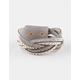 FULL TILT Braided Stud Wrap Bracelet