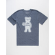 RIOT SOCIETY Logo Bear Mens T-Shirt
