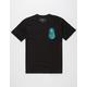 RIOT SOCIETY Pineapple X-Ray Mens T-Shirt