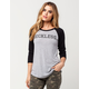 YOUNG & RECKLESS Rivalry Womens Raglan Tee