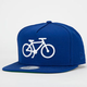 SOCIETY Fuzzy Bike Mens Snapback Hat