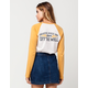 VANS Cleaned Up Womens Raglan Tee