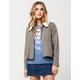 FULL TILT Sherpa Collar Womens Twill Jacket