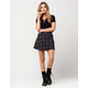 FULL TILT Plaid Wrap Skirt