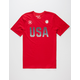 HURLEY Dri-FIT Team USA Mens T-Shirt