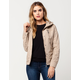 JOU JOU Womens Hooded Bomber Jacket