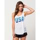 HURLEY Dri-FIT Team Racer USA Womens Tank