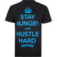 MIGHTY HEALTHY Hustle Hard Mens T-Shirt