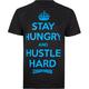 MIGHTY HEALTHY Hustle Hard Mens T-Shirt