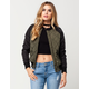FULL TILT Quilted Womens Bomber Jacket