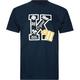 KR3W Letterman Mens T-Shirt