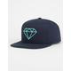 DIAMOND Rock Logo Mens Snapback Hat