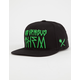 US VERSUS THEM Sao Paolo Mens Snapback Hat
