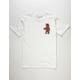 RIOT SOCIETY Floral Bear Mens T-Shirt