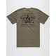 HIPPY TREE Bonfire Mens Pocket Tee