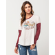VOLCOM Hit The Road Womens Tee