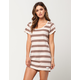 RHYTHM Strokes Tee Womens Tunic Dress