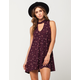 FULL TILT Floral Medallion Dress