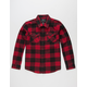 SHOUTHOUSE Bill Boys Flannel Shirt