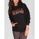 RVCA Distressed Womens Hoodie
