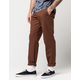 DICKIES 850 Slim Taper Flex Timber Brown Mens Pants
