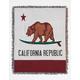 Cali Bear Tapestry Blanket