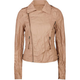 LOST Twiggy Womens Faux Leather Biker Jacket