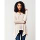BLU PEPPER Lace Knit Womens Sweater