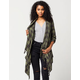 BILLABONG Once Again Womens Flannel Cardigan