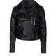 ASHLEY Faux Leather Womens Biker Jacket
