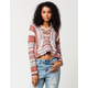 BILLABONG Beach Crop Womens Poncho Sweater