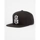 REBEL8 Logo Mens Snapback Hat