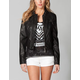 JOU JOU Faux Leather Womens Jacket