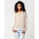 BLU PEPPER Lace Bottom Womens Sweater