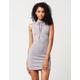 BLU PEPPER Lace Up Dress