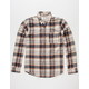 UNIVIBE Compass Mens Flannel Shirt