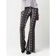 FULL TILT Neutral Ethnic Print Womens Flare Pants