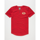 NFL 49ers Space Dye Mens Henley