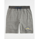 NFL Chargers Intertech Mens Sweat Shorts
