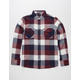 COASTAL Tri Buffalo Mens Flannel Shirt