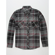 DISTORTION Bart Mens Flannel Shirt