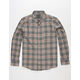 BIRCH BLACK Finch Mens Flannel Shirt