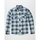DISTORTION Dude Mens Flannel Shirt