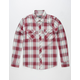 DISTORTION Dude Mens Flannel Shirt