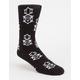 REBEL8 8 Pattern Logo Mens Socks