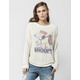 JUNK FOOD Snoopy Womens Sweatshirt