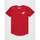 NFL Cardinals Space Dye Mens Henley