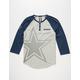 NFL Cowboys Mens Raglan Henley