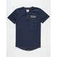NFL Rams Space Dye Mens Henley