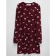 FULL TILT Embroidered Keyhole dress